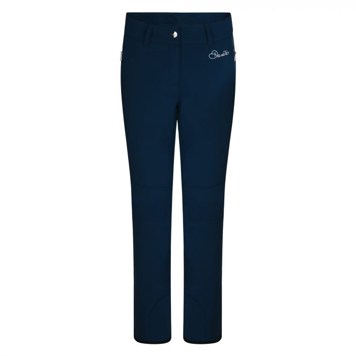 Women's Rarity Luxe Softshell Ski Pants Blue Wing