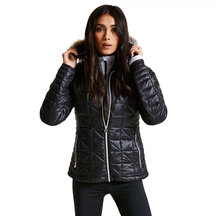 Women's Endow II Luxe Ski Jacket Black