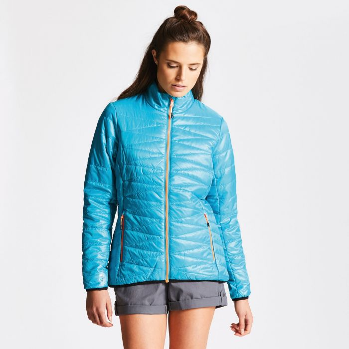 Women's Intertwine Jacket Sea Breeze Blue