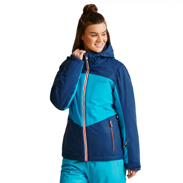 Women's Beckoned II Ski Jacket Admiral/SeaB