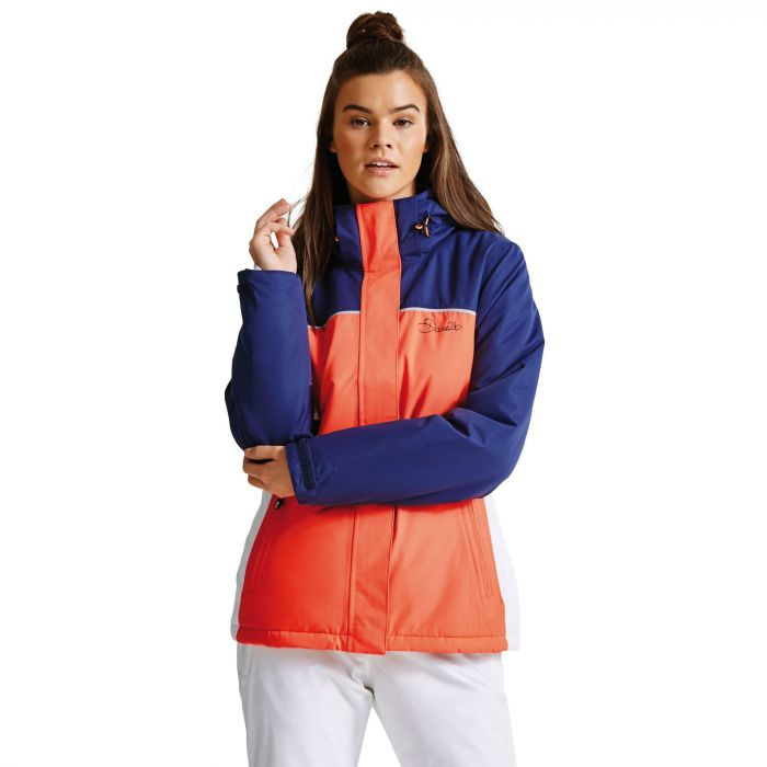 Women's Ingress Ski Jacket FieryC/Admrl