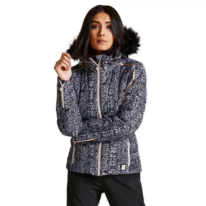 Women's Convolute Luxe Ski Jacket Black