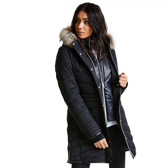 Women's Lately II Luxe Ski Jacket Black
