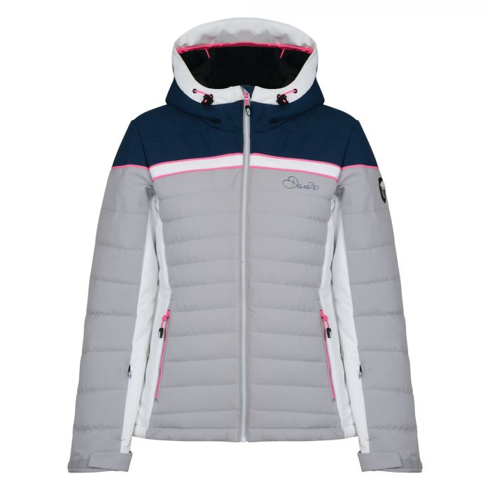 Women's Novela Ski Jacket Silver Flash