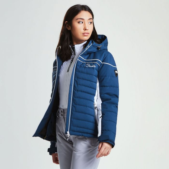 Women's Novela Ski Jacket Blue Wing