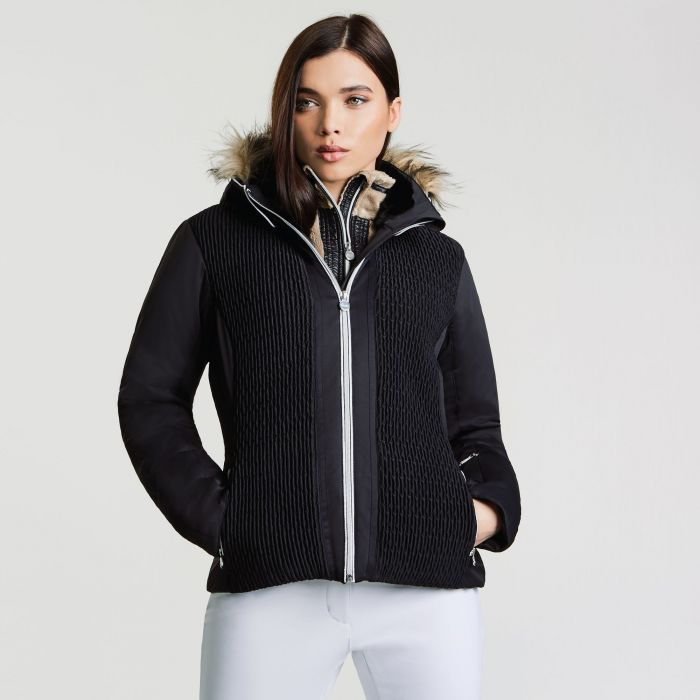 Women's Statement Luxe Ski Jacket Black