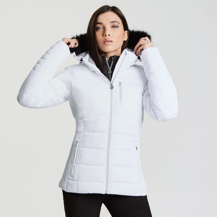Women's Curator Luxe Ski Jacket White