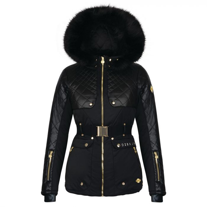 Dare 2B x Julien Macdonald - Women's Indulgence Ski Jacket Black
