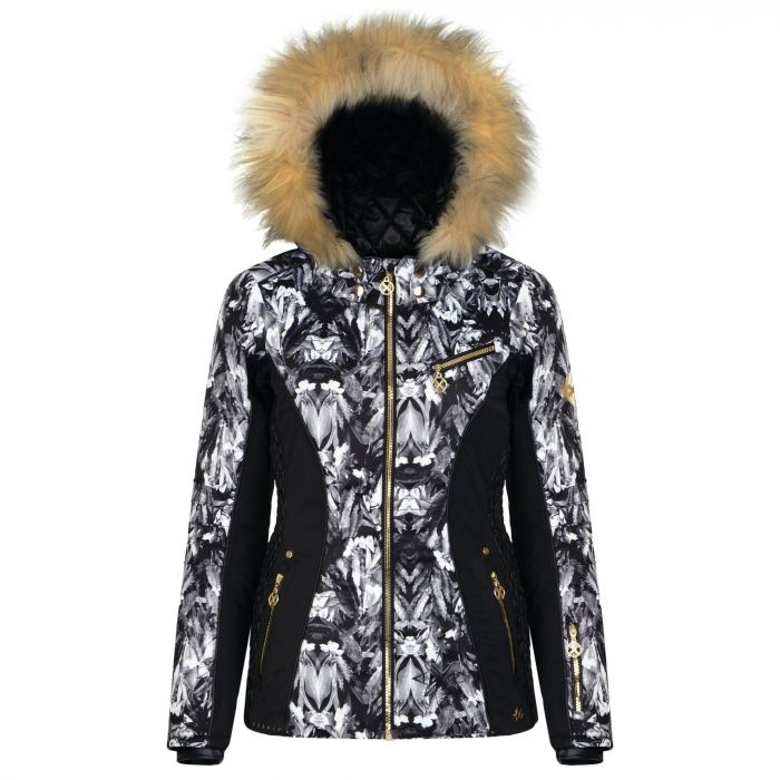 Dare 2B x Julien Macdonald - Women's Affluence Ski Jacket Mono Floral