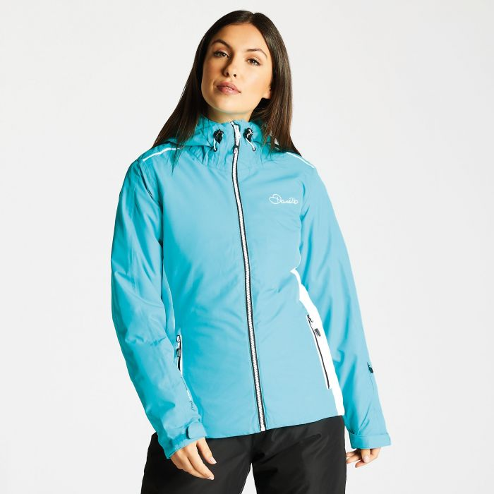 f95f6ece5ac6 Women s Project Ski Jacket Aqua White