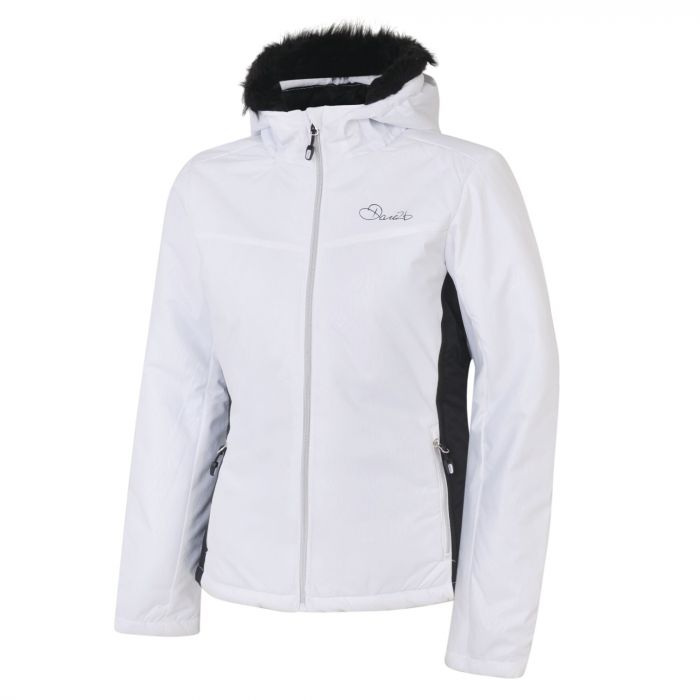 e5826b25427b Women s Create Luxe Ski Jacket White