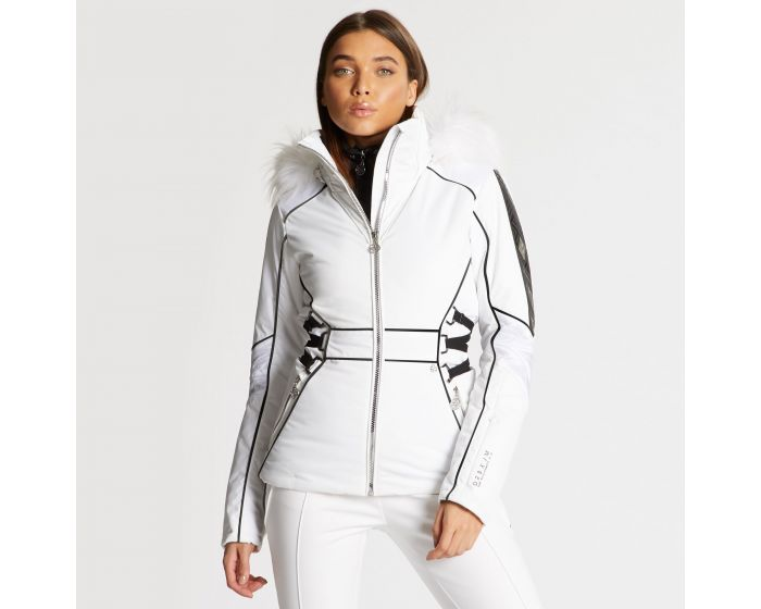 Dare 2b X Julien Macdonald - Womens Highness Ski Jacket White