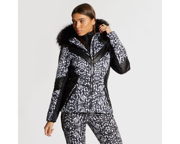 Dare 2b X Julien Macdonald - Womens Emperor Ski Jacket Animal Print