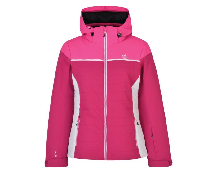 Womens Sightly Ski Jacket Fuchsia Cyber Pink