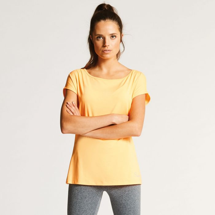 85f56d63e Womens Innate Tee Quick Drying Gym T-Shirt Orange Burst. Add to Saved Items