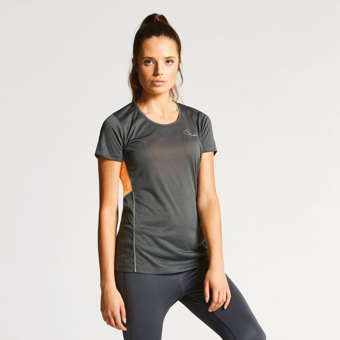 Women's Aspect Tee Charcoal Grey