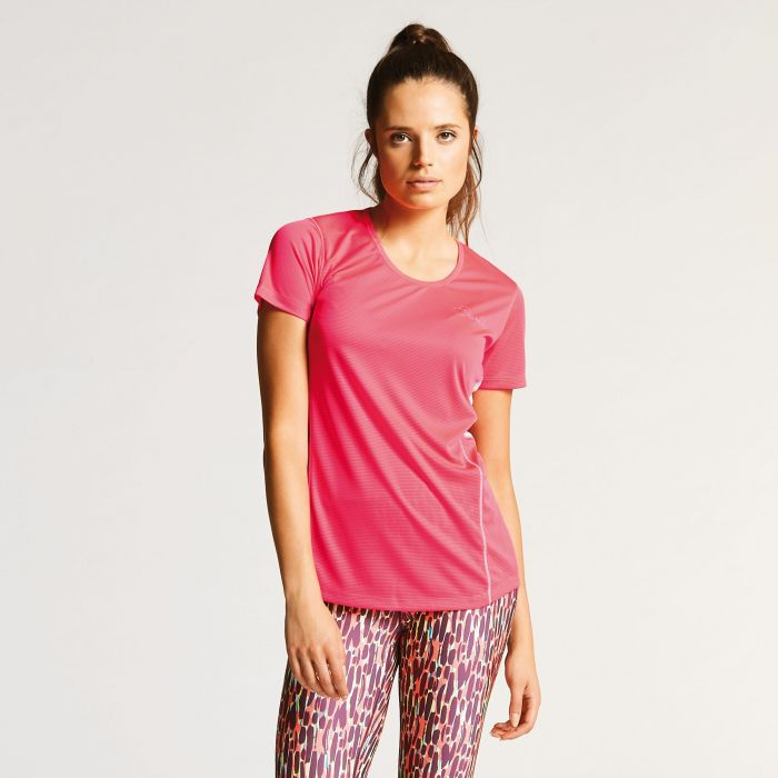 Women's Aspect T-Shirt Neon Pink