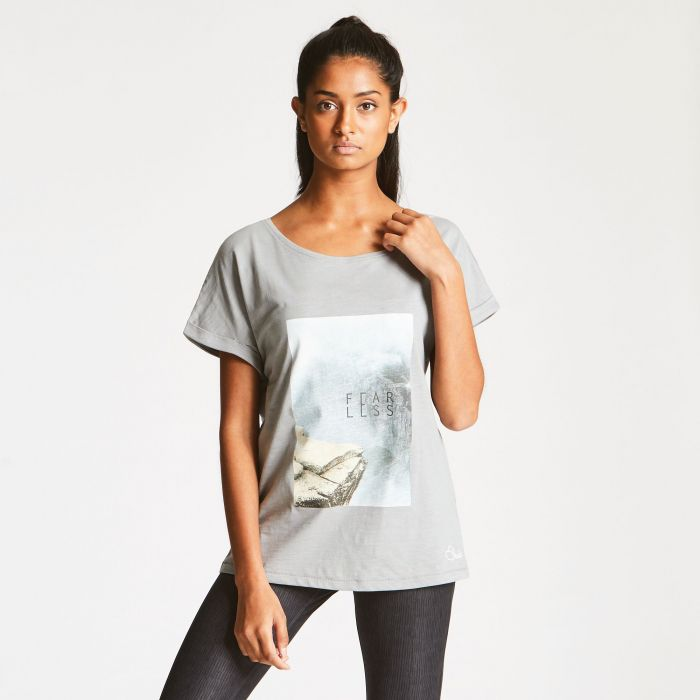 Women's Laidback T-shirt Cloudy Grey