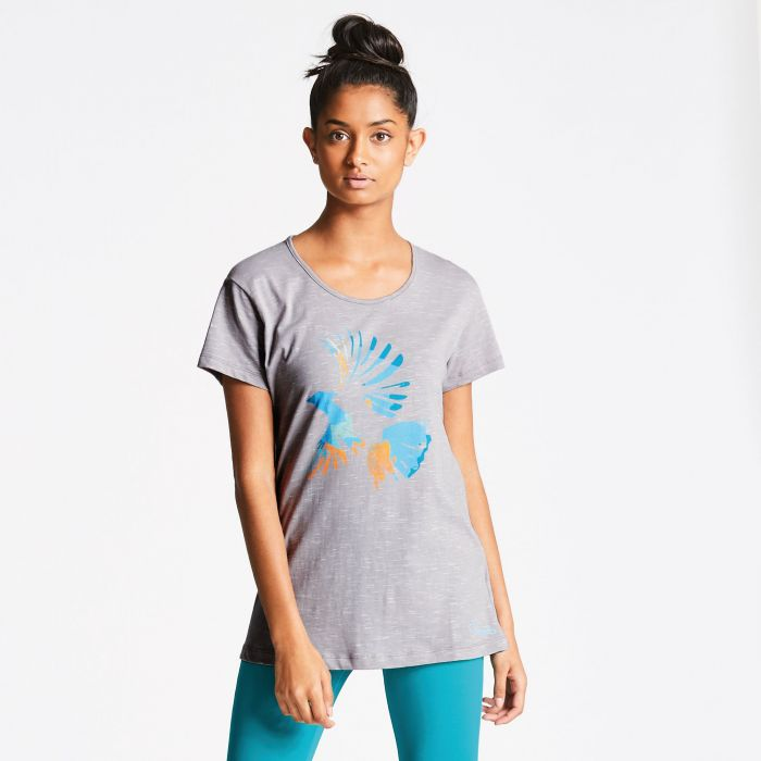 Women's Voyage T-Shirt Cloudy Grey