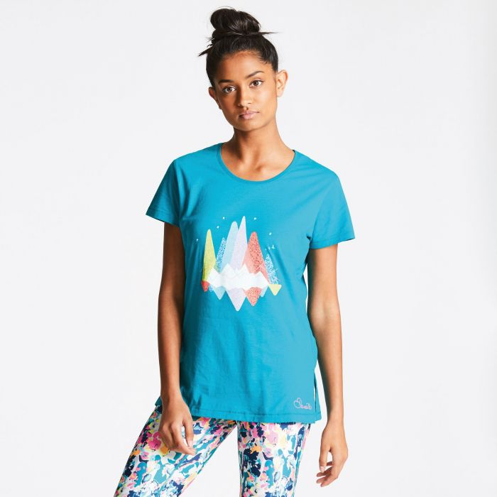 Women's Avian T-Shirt Shoreline Blue