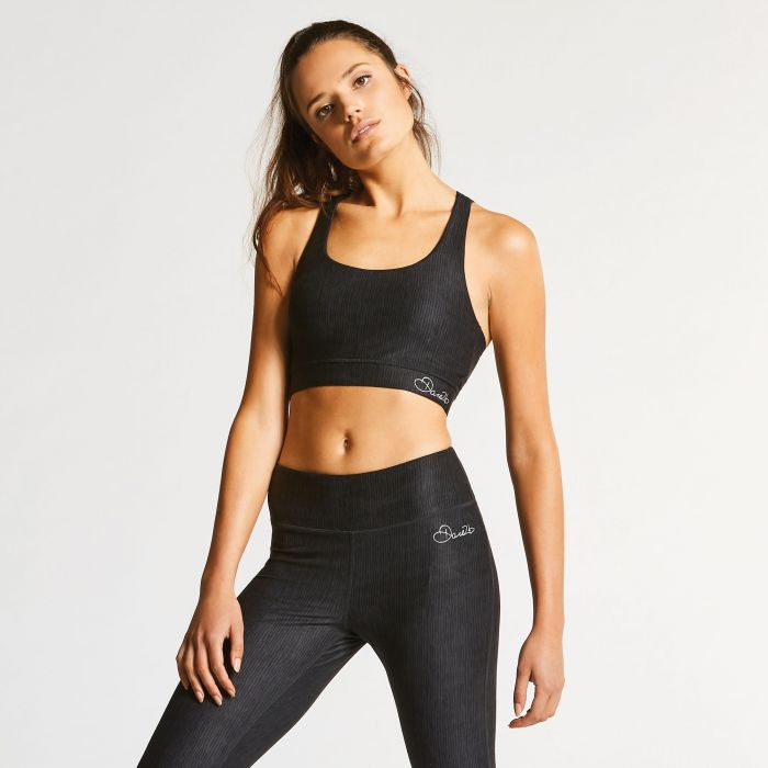 Women's Outstretch Sports Bra Black