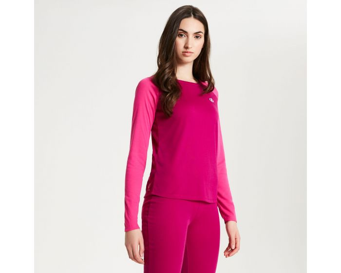 Womens Exchange Thermal Base Layer Set Fuchsia Cyber Pink