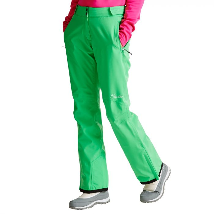 Women's Stand For Ski Pants Acid Green