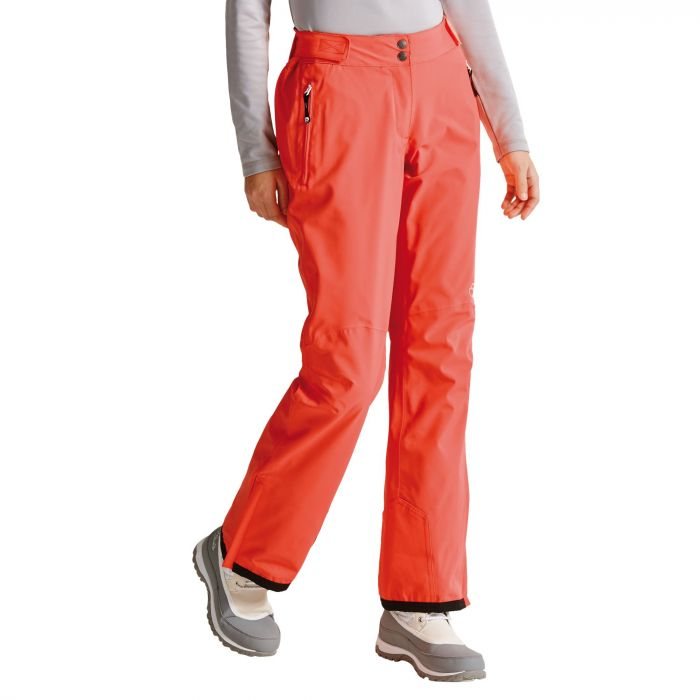 Women's Stand For Ski Pants Fiery Coral