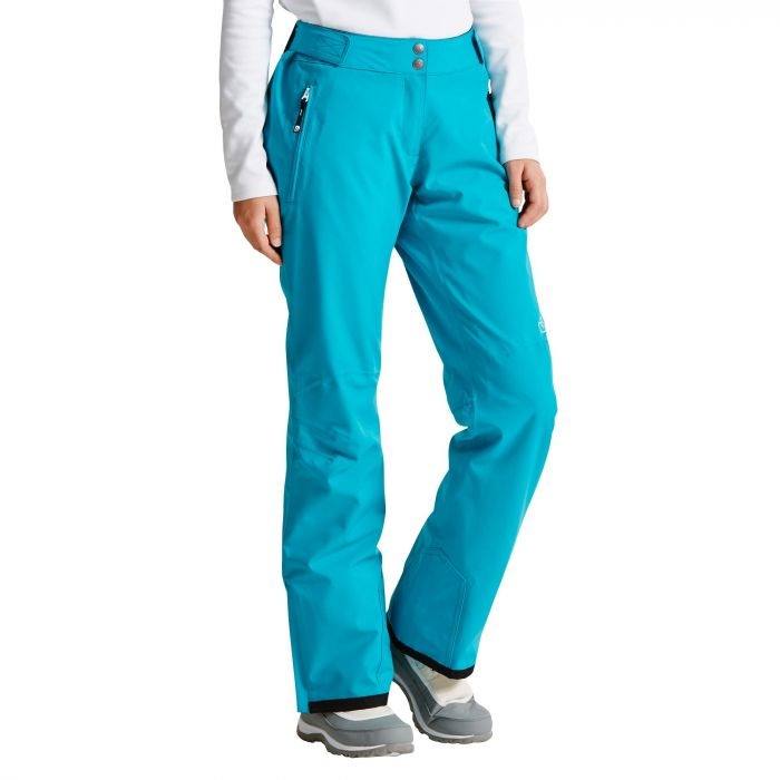 Women's Stand For Ski Pants Sea Breeze