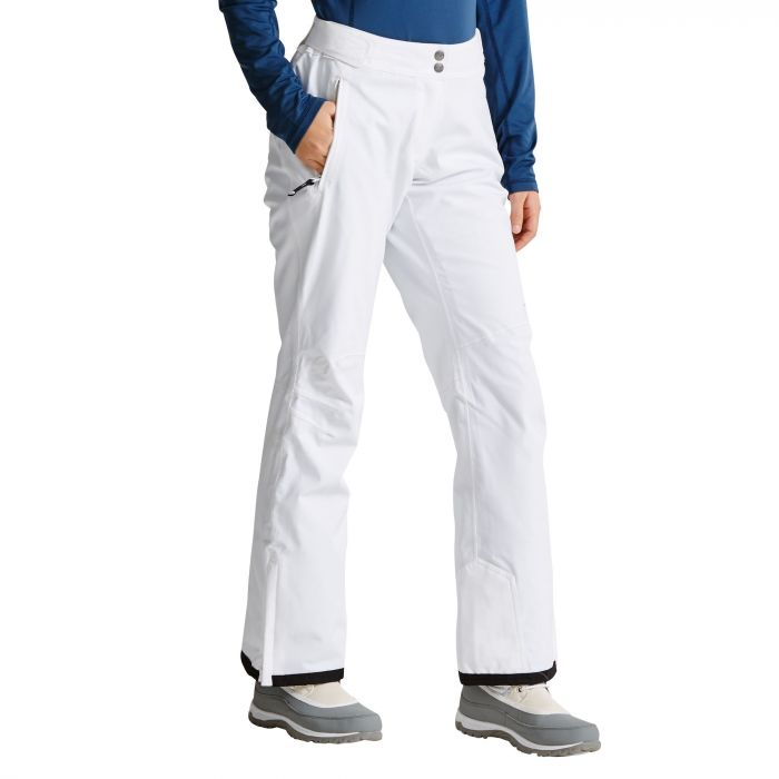 Women's Stand For Ski Pants White