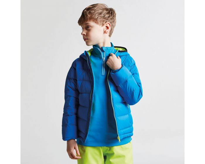 b7f1714fe Kids Download Down Fill Hooded Jacket Athletic Blue