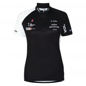 2017 Women's Tour Queen of the Mountains Cycle Jersey Black