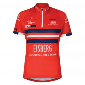 2017 Women's Tour Eisberg Cycle Jersey Red