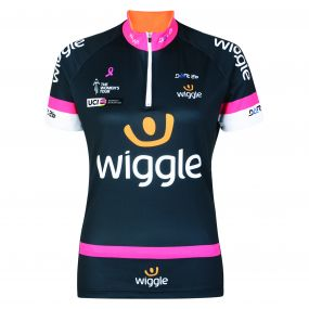 2017 Women's Tour Wiggle Cycle Jersey Grey