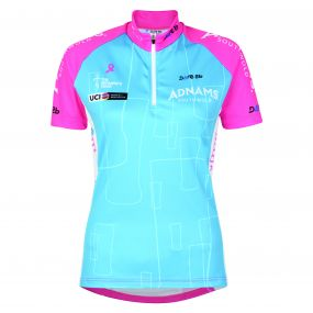 2017 Women's Tour Adnams Best GB Cycle Jersey Blue