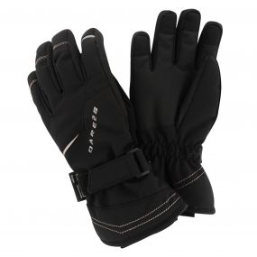 Kids Handful Ski Gloves Black