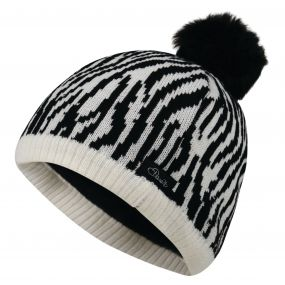 Kids Watch Out Beanie Hat White