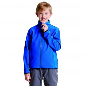 Kids Derive II Softshell Jacket Oxford Blue
