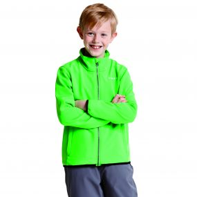 Kids Derive II Softshell Jacket Acid Green