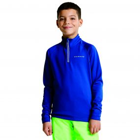 Kids Ricochet III Core Stretch Midlayer Laser Blue