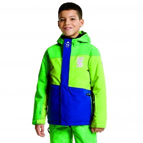 Kids Extempore Ski Jacket Laser/AcidGr