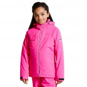 Kids Ruminate Ski Jacket Cyber Pink