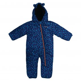 Kids Break The Ice Ski Snowsuit  Laser Blue