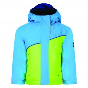 Kids Set About Jacket NeonGr Fluro