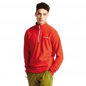 Men's Freeze Dry II Half Zip Fleece Seville Red