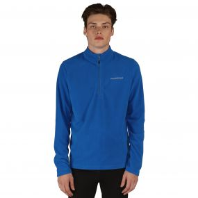 Men's Freeze Dry II Half Zip Fleece Oxford Blue