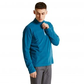 Men's Freeze Dry II Half Zip Fleece Titan Blue