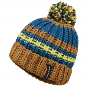 Men's Rule Out Beanie Hat Golden Brown