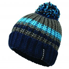 Men's Rule Out Beanie Hat Admiral Blue