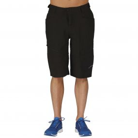 Men's Adhere Convertible Shorts Black